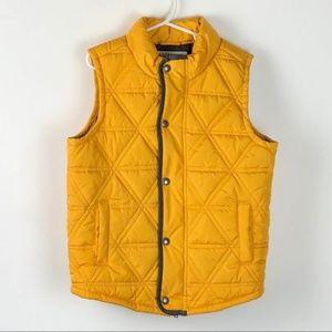 Authentic Gymboree mustard vest - small